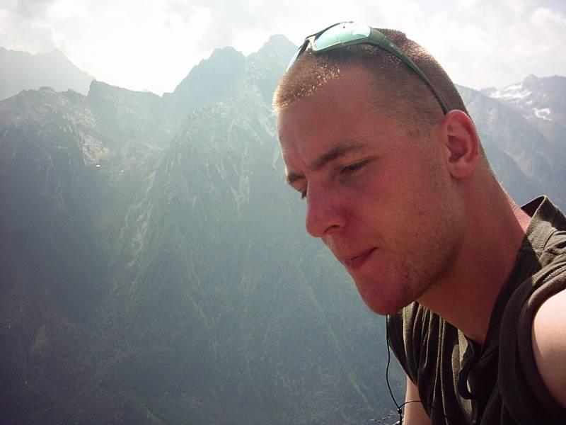 LizarD in den Bergen